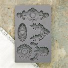 Prima Iron Orchid Designs Vintage Art Decor Mould - Escucheons #2
