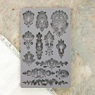 Prima Iron Orchid Designs Vintage Art Decor Mould - Keyholes