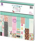 "Prima - 12""x12"" Anna Marie Collection Kit (20 sheets)"