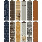 Project Life Designer Dividers - Cinnamon Edition (12 pack)