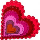 Spellbinders Shapeabilities Nestabilities Scalloped Heart
