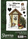 A Little Bit Festive Stamp Set - Welcome Home by Sheena Douglass