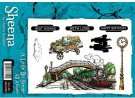 A Little Bit Scenic Stamp Set - All Aboard by Sheena Douglass