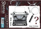 A Little Bit Sketchy Stamp Set - Mystery Author by Sheena Douglass
