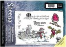 Sheena Douglass Perfect Partner Scenic Winter A5 Unmounted Rubber Stamp - Christmas Tidings