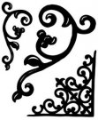 Crafters Companion EZMount Stamps - Wrought Iron by Sheena Douglass