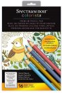 Spectrum Noir Colorista A4 Pencil Pad - Natural Beauty