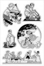 Stampendous Perfectly Clear Stamp Set - Children Play