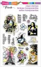 Stampendous Perfectly Clear Stamp Set - Eclectic Charms