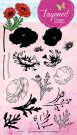 Studio Light A5 Layered Clear Stamp Set - Poppy #18