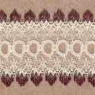 34mm LACE CREAM/BROWN