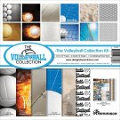 "Reminisce 12""x12"" Collection Kit - Volleyball (13 sheets)"