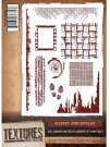Crafters Companion Textures A6 Unmounted Stamp - Basket and Burlap