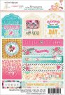 Websters Pages Beautiful Chic Stickers - Tags & Prompts
