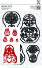 Xcut A5 Die Set - Russian Dolls (5 dies)