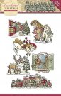 Yvonne Creations Clear Stamp Set - Traditional Christmas