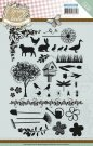 Yvonne Creations Clear Stamp Set - Spring-tastic