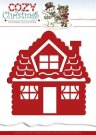 Yvonne Creations Dies - Cozy Christmas Gingerbread House