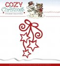 Yvonne Creations Dies - Cozy Christmas Hanging Stars