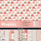 "Teresa Collins - You Are My Happy 12""x12"" Paper Pack (10 sheets)"