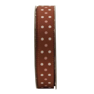 Anitas 1.5m RIBBON - SPOTTED - COPPER