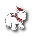 Memory Box Dies - Holiday Spirit Bear