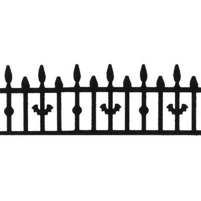 Martha Stewart Deep Edger Punch - Iron Fence