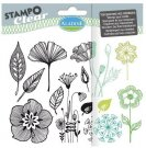 Stampo Clear Clearstamp Set - Flowers
