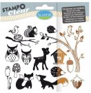 Stampo Clear Clearstamp Set - Forest