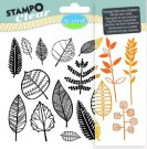 Stampo Clear Clearstamp Set - Leaves