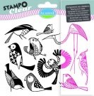 Stampo Clear Clearstamp Set - Birds