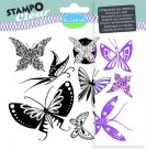 Stampo Clear Clearstamp Set - Butterfly