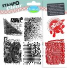 Stampo Clear Clearstamp Set - Textures