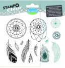 Stampo Clear Clearstamp Set - Attrape Reve