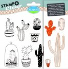 Stampo Clear Clearstamp Set - Cactus