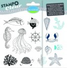 Stampo Clear Clearstamp Set - Poisson