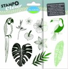 Stampo Clear Clearstamp Set - Jungle