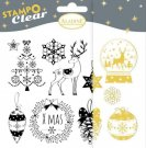 Stampo Clear Clearstamp Set - Classic Christmas