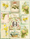 Penny Black Stickeroos Sticker Sheet - Oh Spring!