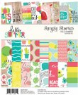 Simple Stories 6x8 Paper Pad - Hello Summer (24 sheets)