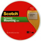 Scotch Extra Large Permanent Mounting Foam Tape Roll (19mm x 34.7m)