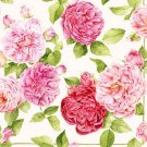 CraftEmotions Napkins - Beautiful Roses Cream