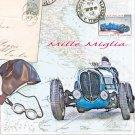 CraftEmotions Napkins - Mille Miglia