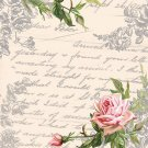 CraftEmotions Napkins - Love Letter