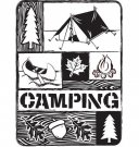 Darice Embossing Folder - Camping Collage