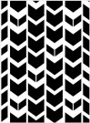 Darice Embossing Folder - Tribal Chevron