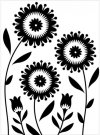 Darice Embossing Folder - Floral Trio