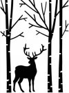 Darice Embossing Folder - Deer In Forest