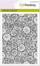 CraftEmotions A6 Clearstamp Set - Background Tree Trunks
