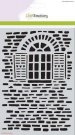 CraftEmotions A5 Mask Stencil - Romantic Provence Old Wall with Window